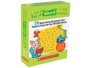Scholastic 0545016428 Sight Word Tales, 25 Books/16 Pages and Teachers Guide