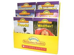 Scholastic 0545015987 Science Vocabulary Readers: Wild Weather, 36 books/Six Titles and Teaching Guide
