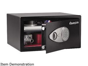 Sentry Safe X105 Electronic Lock Security Safe, 1.0 ft3, 16-15/16w x 14-9/16d x 8-7/8h, Black