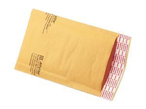 Self-Seal Cushioned Mailer, Size 000, 4 x 8, 500/Case, Kraft