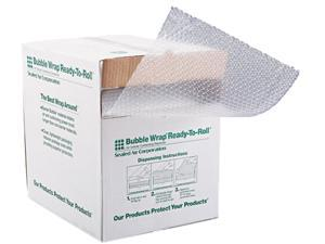 """Sealed Air 10600 Bubble Wrap Cushioning Material, 3/16"""" Thick, 12"""" x 100ft"""