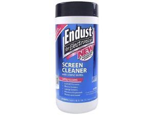 Endust 815825018327 11506 LCD And Plasma Monitor Cleaner Pop-up Wipes 4 Pk