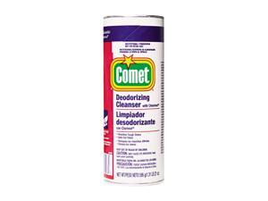 Procter & Gamble 32987EA Comet Cleanser w/Chlorinol, Powder, 21 oz. Canister