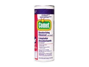 Comet PAG32987CT Comet Cleanser w/Chlorinol, Powder, 21oz. Canister, 24/Carton