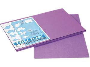 Pacon 103041 Tru-Ray Construction Paper, 76 lbs., 12 x 18, Violet, 50 Sheets/Pack