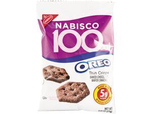 Nabisco 0617 100 Calorie Packs Oreo Cookies, 6/Box