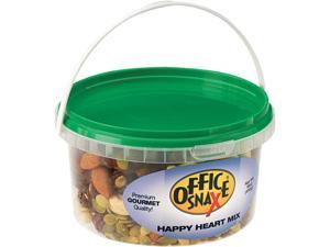 Office Snax 00055 All Tyme Favorite Nuts, Happy Heart Mix, 16 oz Tub
