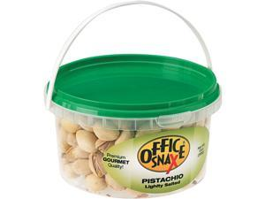 Office Snax 00051 All Tyme Favorite Nuts, Pistachios, 13 oz Tub