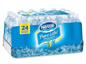 Nestle Waters 101264 Pure Life Purified Water, 16.9 oz Bottles, 24/Carton