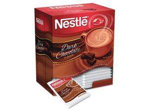 Nestle 70060 Instant Hot Cocoa Mix, Dark Chocolate, 0.71oz, 50/Box