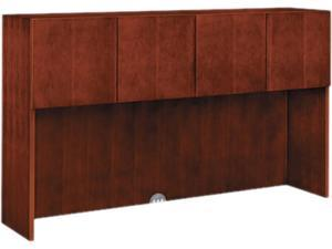 Arrive Wood Veneer Stack-On Storage, 71-7/8w x 15-7/8d x 42h, Henna Cherry