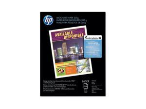 Hewlett-Packard Color Laser Photo Paper, 52 lbs., Matte, 8-1/2 x 11, 250 Sheets/Pack