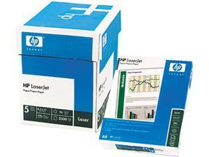 Hewlett-Packard 11530-0 LaserJet Paper, Ultra White, 97 Bright, 24lb, Letter, 2500 Sheets/Carton