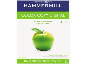 Hammermill Color Copy Paper, 98 Brightness, 32lb, 8-1/2 x 11, Photo White, 500/Ream
