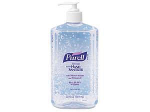 PURELL 3023-12EA Hand Sanitizer, 20-oz. Pump Bottle