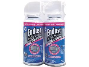 Endust 246-050 Compressed Gas Duster, 2 3.5oz Cans/Pack