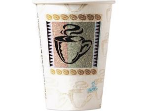 Dixie 5338CD-PK PerfecTouch Hot Cups, Paper, 8 oz., Coffee Dreams Design, 50/Pack