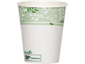 Dixie 2340PLA-PK EcoSmart Hot Cups, PLA Lined Paper, Viridian, 10 oz., 50/Pack