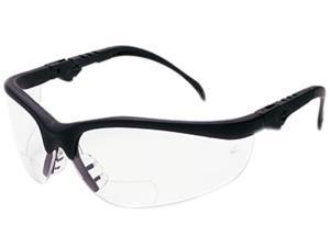 Crews K3H20 Klondike Magnifier Glasses, 2.0 Magnifier, Clear Lens