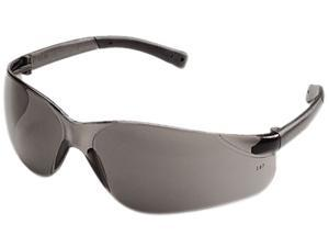 Crews BK112 BearKat Safety Glasses, Wraparound, Gray Lens