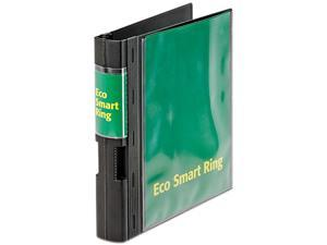 "Cardinal 24031 EcoSmart Ring View Binder, 2"" Capacity, Black"