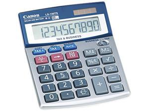 Canon USA 5936A028AA LS100TS Portable Desktop Business Calculator, 10-Digit LCD