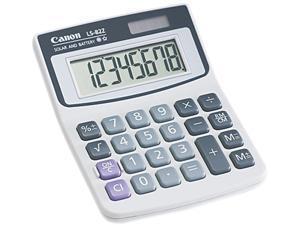 Canon USA 4075A007AA LS82Z Minidesk Calculator, 8-Digit LCD