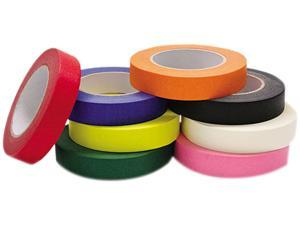 """Chenille Kraft 4860 Colored Masking Tape Classroom Pack, 1"""" x 60 yards, Assorted, 8 Rolls/Pack"""