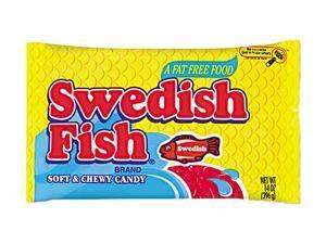 Swedish fish 4331800 candy original flavor red 14oz for Swedish fish box