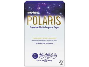 Boise POL-1117 POLARIS Copy Paper, 11 x 17, 20lb White, 2500 Sheets/Carton