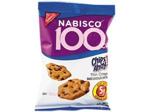 Nabisco 610 - 100 Calorie Chips Ahoy Chocolate Chip Cookie, 6/Box, 1 Box