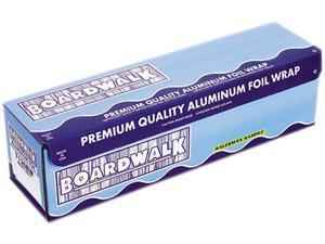 Boardwalk 7126 Heavy-Duty Aluminum Foil Rolls, 18 in. x 1000 ft., Silver