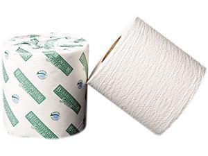 Boardwalk 20GREEN Green Bathroom Tissue, 2-Ply, White, 500 Sheets/Roll, 96 Rolls/Carton