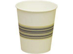 Boardwalk 10SQHOTCUP Paper Hot Cups, 10 oz., Blue & Tan, 20 Bags of 50, 1000/Carton
