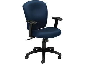 basyx VL220VA90 VL220 Mid-Back Task Chair, Navy