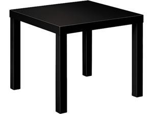 basyx BLH3170P Laminate Occasional Table, 24w x 24d x 20h, Black