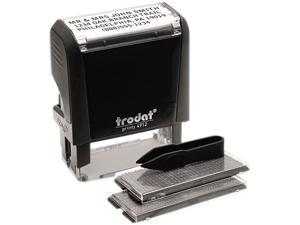 Trodat 5915 Self-Inking Do It Yourself Message Stamp, 3/4 x 1 7/8