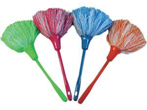 "UNISAN MINIDUSTER MicroFeather Mini Duster, Microfiber Feathers, 11"", Assorted Colors"