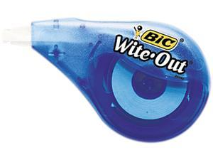 "BIC WOTAPP11 Wite-Out EZ Correct Correction Tape, Non-Refillable, 1/6"" x 397"""
