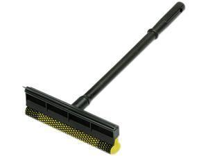 "UNISAN 816 General-Duty Squeegee, 8"" Sponge Head/Rubber Blade, 16"" Plastic Handle"