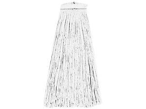 UNISAN 716R Cut-End Lie-Flat Wet Mop Head, Rayon, 16-oz., White