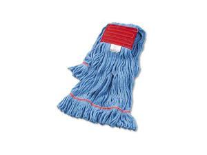 UNISAN 503BL Super Loop Wet Mop Head, Cotton/Synthetic, Large Size, Blue