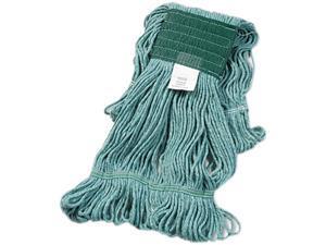 UNISAN 502GN Super Loop Wet Mop Head, Cotton/Synthetic, Medium Size, Green