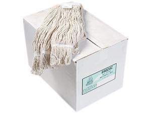UNISAN 4024CCT Pro Loop Web/Tailband Wet Mop Head, Cotton, 12/Carton