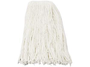 UNISAN 216RCT Premium Cut-End Wet Mop Heads, Rayon, 16-oz., White, 12/Carton