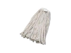 UNISAN 2032C Cut-End Wet Mop Head, Cotton, #32 Size, White