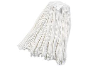 UNISAN 2020R Cut-End Wet Mop Head, Rayon, #20 Size, White