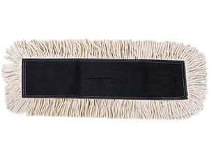 UNISAN 1624 Disposable Dust Mop Head, Cotton/Synthetic, 24w x 5d, White