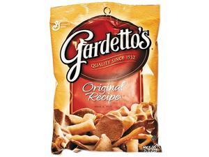 General Mills SN43037 Gardetto's Snack Mix, Original Flavor, 5.5 oz Bag, 7 Bags/Box