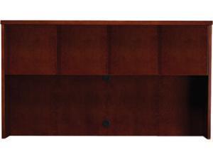 Mayline Mira Series Veneer Assembled Hutch Frame, 70w x 14d x 39h, Medium Cherry